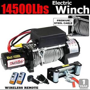 7.25ton 14500lbs Electric Winch Remote 12v Steel Cable truck 4x4 Wangara Wanneroo Area Preview