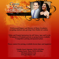 Gassi Voice Studio -- Now booking for Fall term!