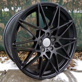 "20"" Staggered Black Competition wheels for BMW F30 or F31 3 Series Etc"
