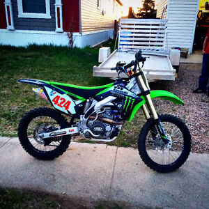 2009 KX450f. Many modifications. Taking offers