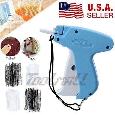 New Garment Clothing Price Label Tagging Tag Tagger Gun With 2000 Barbs 1 Needle