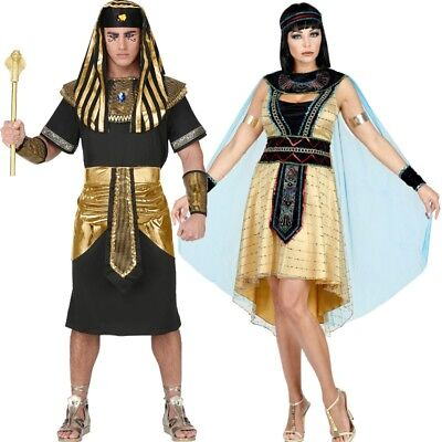Cleopatra Königin vom Nil Pharao Römer König  Partner Kostüm für Damen & Herren
