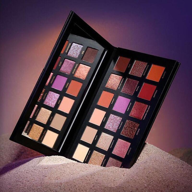 2017 New Huda Beauty Desert Dusk Eye Shadows Palette Eye Shadows 18 Colors US
