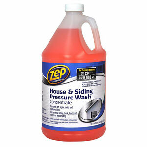 NEW Zep House & Siding Cleaner Pressure Wash 3.78L