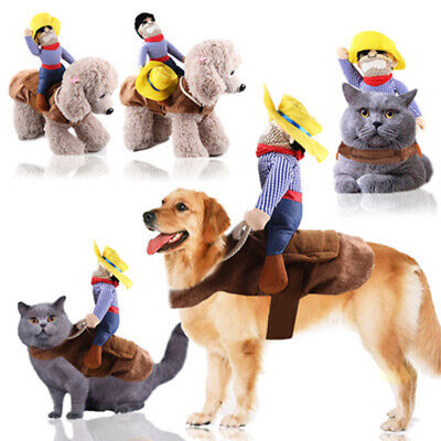 Cowboy Cosplay Hundekostüm Kleiner Hund Katze Mantel Haustier - Cowboy Hunde Kostüm