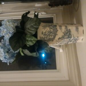 floral glass deco