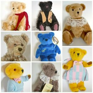 Collection d'ours en peluche uniques ou vintages