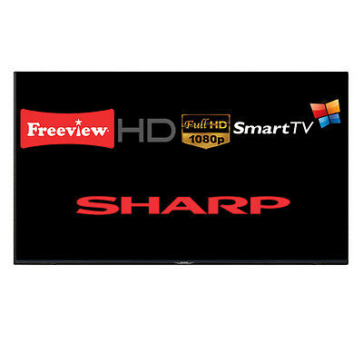 "Sharp Aquos LC-55CFE6241K 55"" Smart LED TV Full HD Freeview HD WiFi Unit Only"