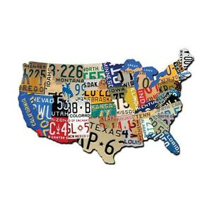 USA License Plate Map | eBay