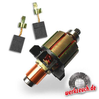 Anker + Kohlebrüsten Set 18 Volt Makita 619263-3 BHP 456 DHP 456 BDF 456 DDF 456