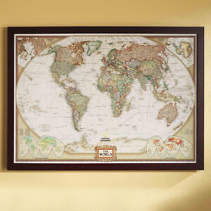 World Map Frame | Buy & Sell Items From Clothing to Furniture and ...