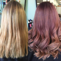 HAIR COLOUR AND HIGHLIGHT SPECIALS FOR FIRST TIME CLIENTS