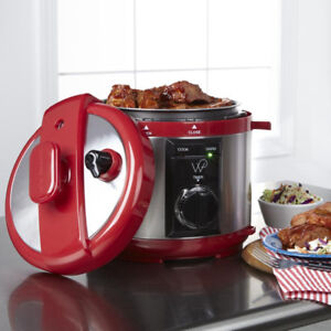 Wolfgang Puck Automatic 8-quart Rapid Pressure Cooker NEW