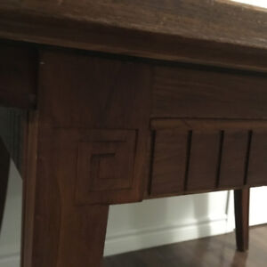 $50 Great Deal - Antique SOLID Rosewood for Dining Table or Desk