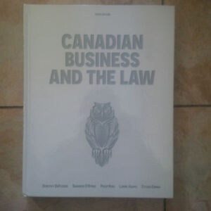 Canadian Business and Law 6th Edition Duplessis