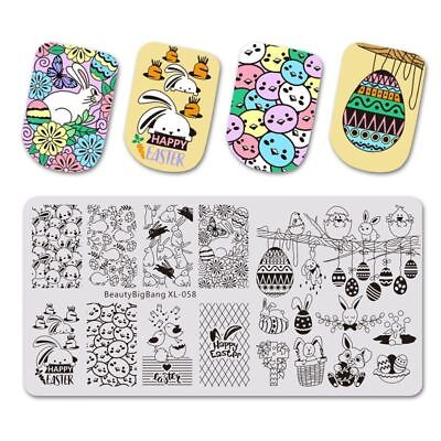 Christmas Easter Halloween Beauty Aesthetic Nail Stamping Plates For Nails Art