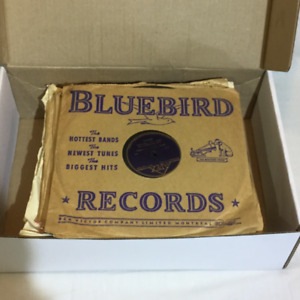 Collection of 78rpm record albums