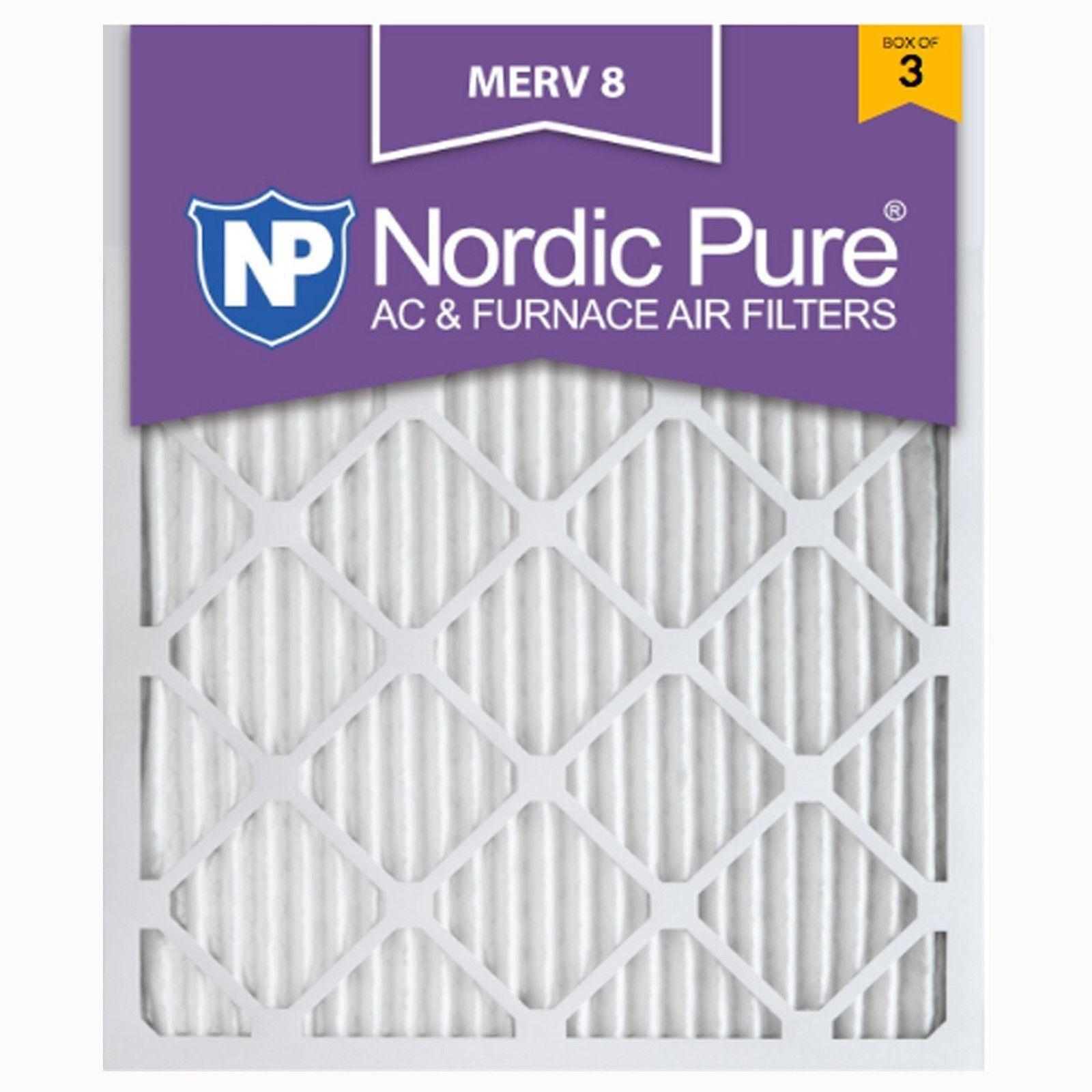 16x25x1 air filter furnace merv 8 filtrete