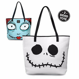 Loungefly x Nightmare Before Christmas Jack/Sally 2-Sided Tote