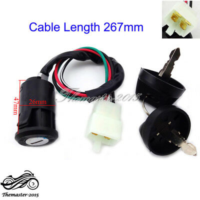 4 Wire Ignition Key Switch 50 90 110 125 cc For Chinese ATV Go Kart TAOTAO Dirt