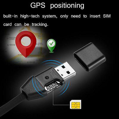 wirelessGSM SIM Spy hidden  USB cable design audio sound voice listening bug New