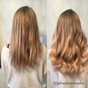 Glam Hair Studio offers high quality, affordable hair extensions London Ontario image 4