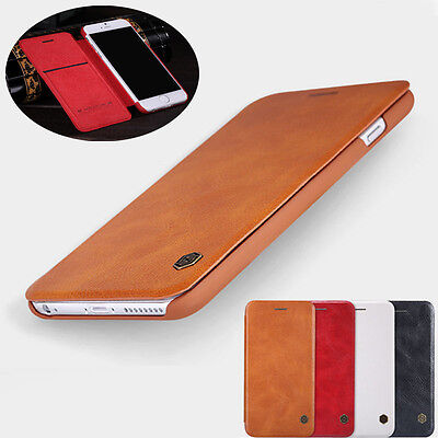 NILLKIN Ultra-thin Qin Flip Leather Case Cover For iPhone 11 Pro XS Max 7 8 -