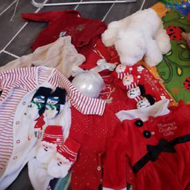 Baby Christmas bits