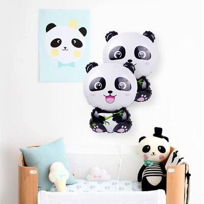 Cute Panda Balloon Foil Ballon Happy Birthday Party Decor Kids Inflatable Toy  (Happy Birthday Kids)