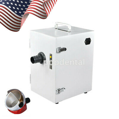 Dental Lab Digital Single-row Dust Collector Vacuum Cleaner Motor Suction Base