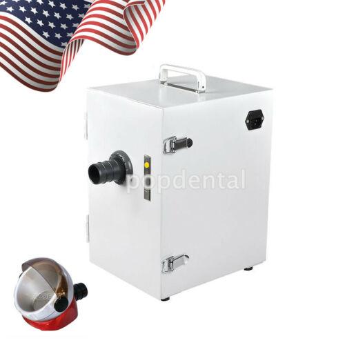 Dental Lab Digital Single-Row Dust Collector Vacuum Cleaner Motor &Suction Base