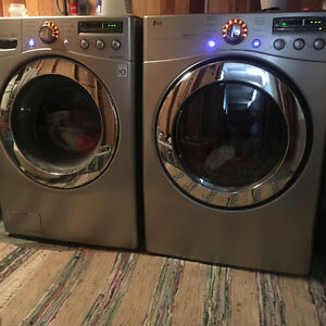 LG Front Loading Washer/Dryer set HE