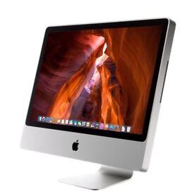 "20"" Apple iMac mid 2008 A1224 Intel Core 2 Duo 2GHz, 3GB, 250GB, OSX Mavericks"