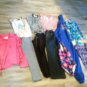 Bag of girl clothes size 12 and 12-14 - brand name