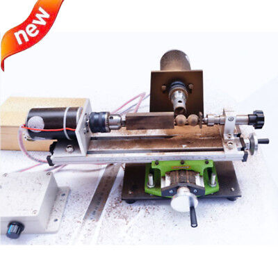 Mini Beads Lathe Machine Household Lathe Diy Wood Beads Woodworking Tools 220v