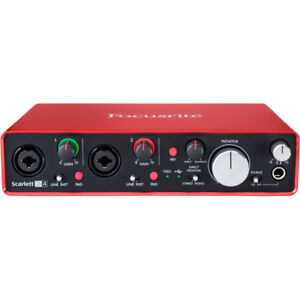 Wanted A Focusrite Scarlett-2i2 Gen2 USB Audio Interface