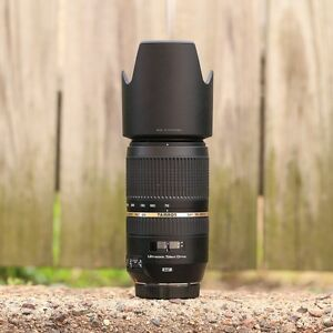 Tamron SP 70 300 VC USD telephoto lens for canon