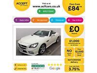 Mercedes-Benz SLK250 FROM £84 PER WEEK!