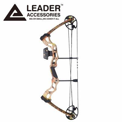 Leader Accessories 25-31 inch Draw Length 50-70lbs Camo Alum
