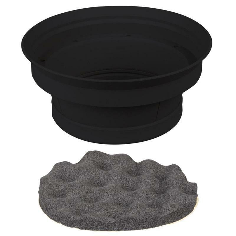 Install Bay IBSBF65 2 Piece Speaker Baffle Kit for 6.5 Inch Speakers - Pkg/Pair