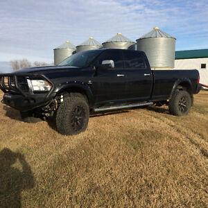 2012 Dodge Power Ram 3500 black limited Pickup Truck