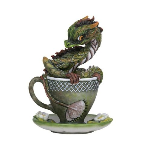 TEA DRAGON Drinks & Dragons Figurine Figure Stanley Morrison teacup cup statue