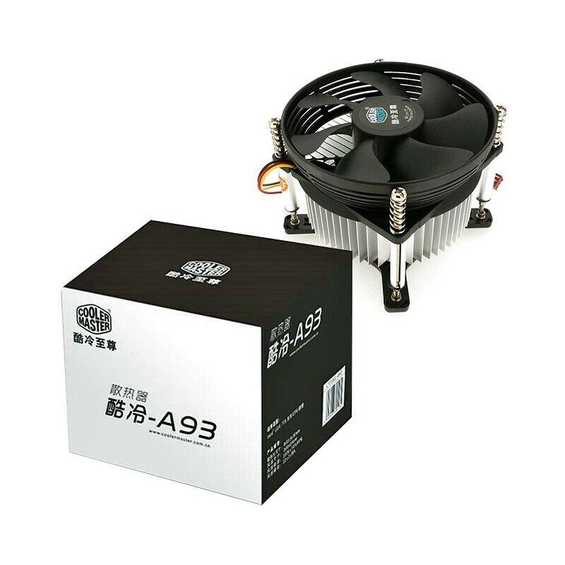 DISSIPATORE 775 VENTOLA RAFFREDDAMENTO COOLER MASTER PROCESSORE CPU LGA 775 FAN