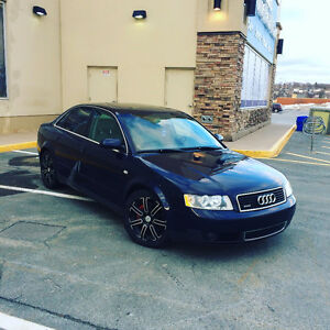 Audi A4 Quattro S-Line 2004 Mint condition