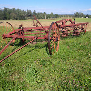Massey Harris Side Delivery Rake Ground Drive