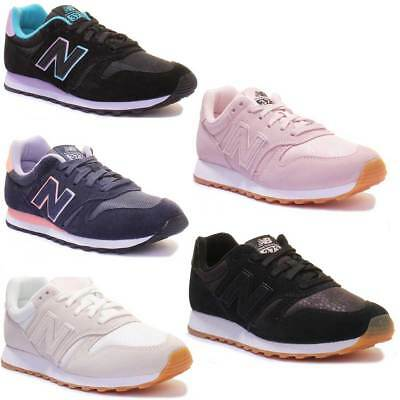 New Balance Wl373 Unisex Suede Leather Trainers