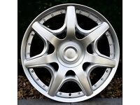 "19"" Bentley Style Alloy Wheels for an Audi A4, A3 MK2 MK3 VW Jetta, Golf MK5, MK6, MK7, Caddy"