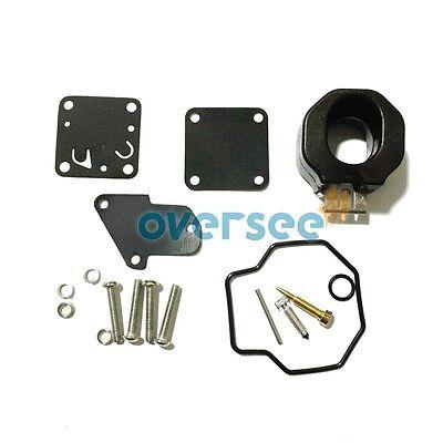 Carburetor Repair Kit 6E0-W0093-00-00 for YAMAHA 4HP 5HP Outboard Engine Parts
