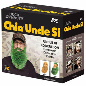 NEW IN BOX Chia Pet Duck Dynasty Si Robertson