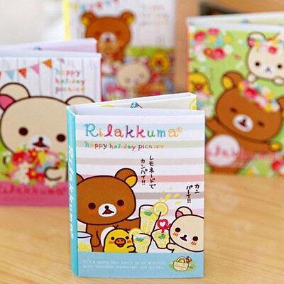 Cute Rilakkuma Sticker Paste Marker Memo Flag Index Tab Sticky Notes Kids Gift